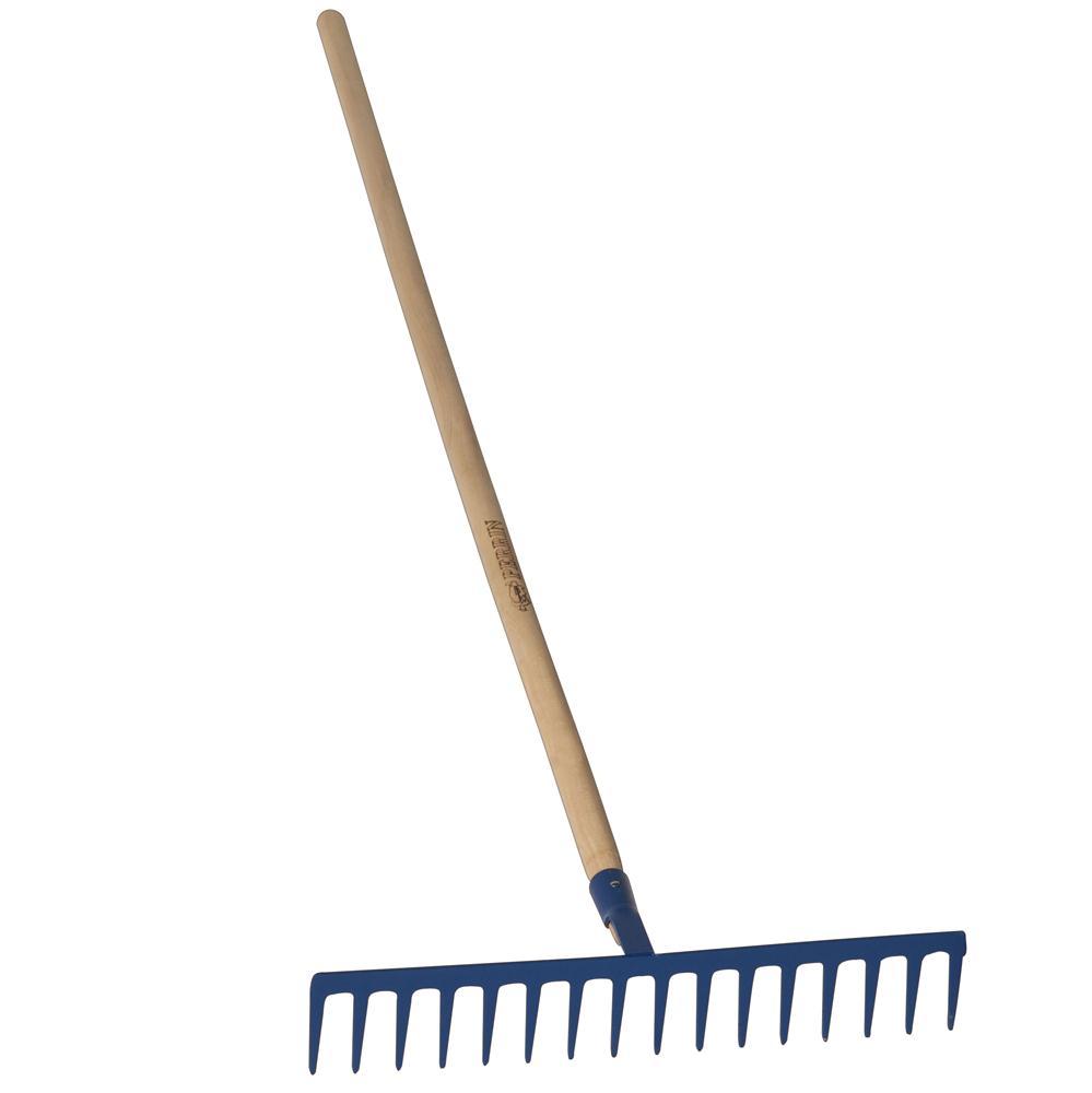 R teau forg 16 dents droites long manche 1 65 m forges for Achat en ligne jardinage