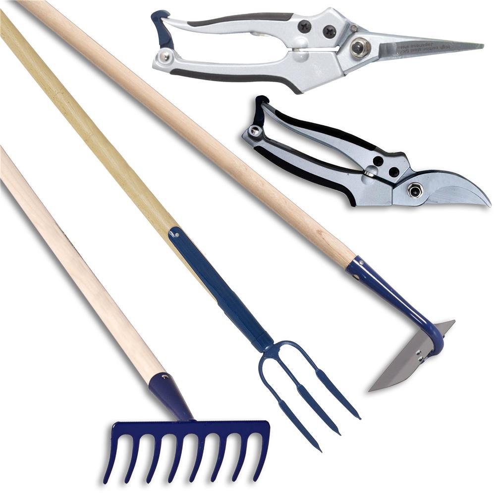 Kit d outils pour l entretien des rosiers forges et jardins for Outils entretien jardin