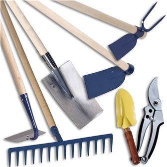 Kit de 7 outils classiques pour le potager