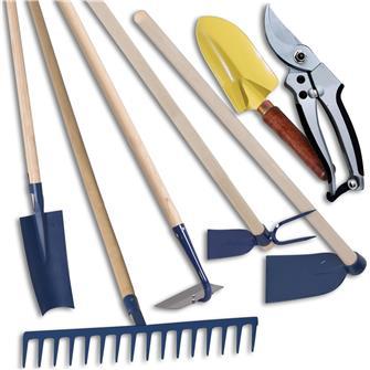 Kit de 7 outils potager pour personne de grande taille