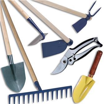Kit de 7 outils pour les potagers à terre lourde argileuse