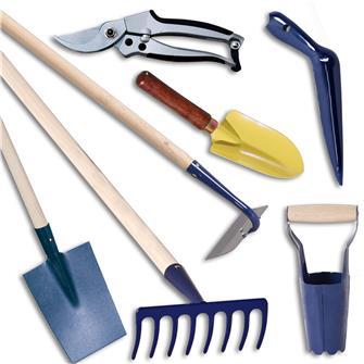Kit de 7 outils pour les massifs de fleurs